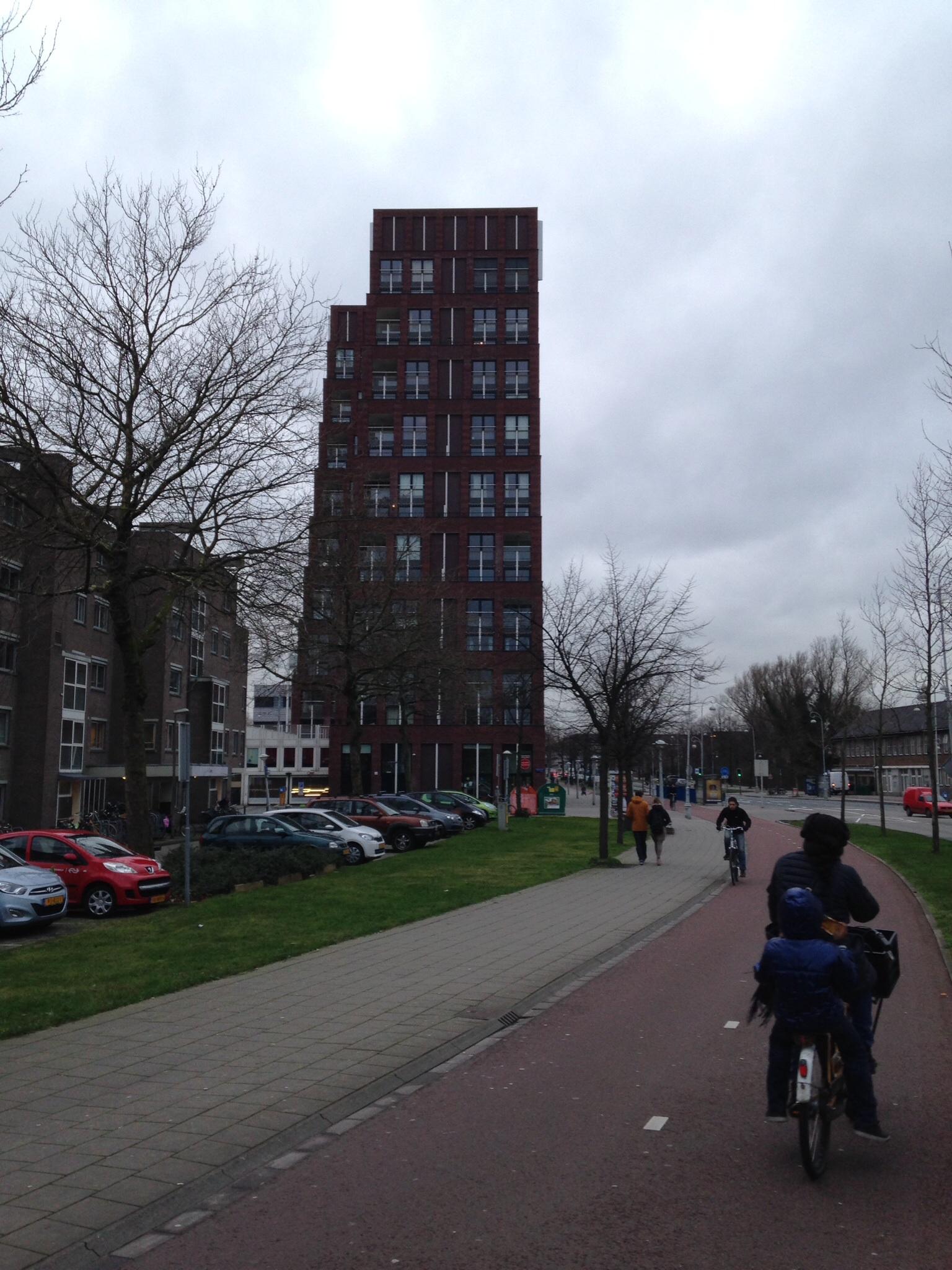 kopgevel de piramides Amsterdam